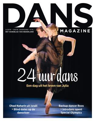 dans magazine nummer 2 cover voedingsblog voor dansers