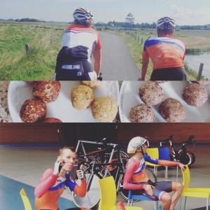 TeamNL Olympische spelen 2016 Rio baanwielrennen soigneur voeding rioreepjes